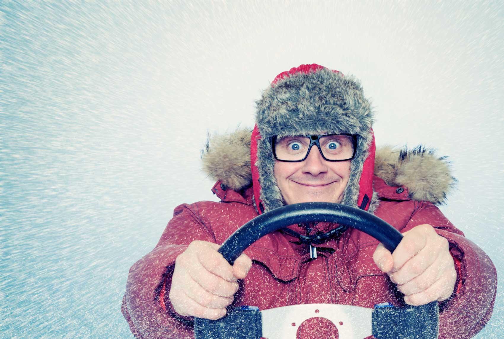 Udělejte si zimní rychlokurz naauto do1 měsíce.