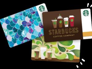 Starbucks dárková karta 200 Kč