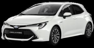Výcvik vautoškole navozidle Toyota Corolla Hybrid
